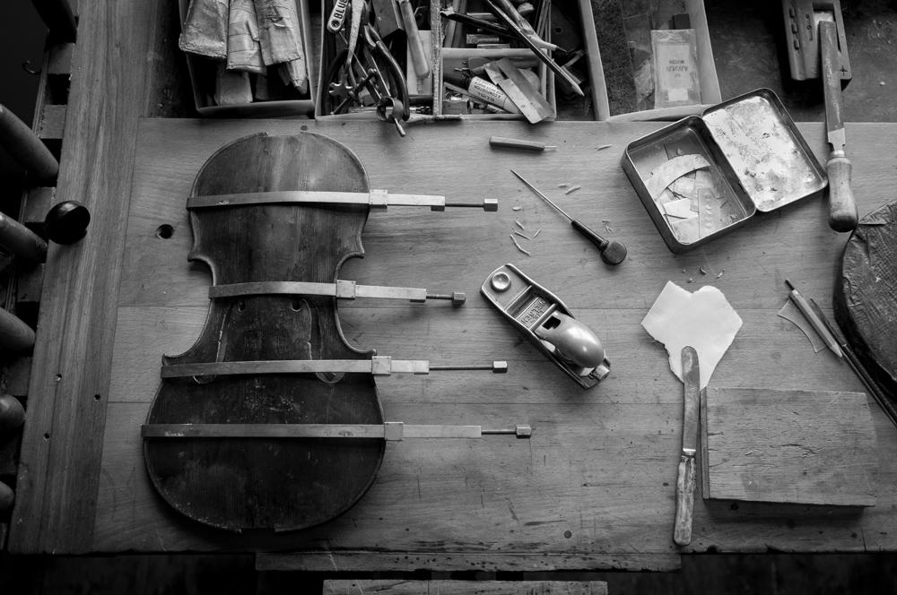 tim allen - artisans - violins